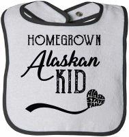 Baby Bib - Homegrown Alaskan Kid