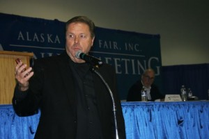 John Tracy was also re-elected at the annual meeting.