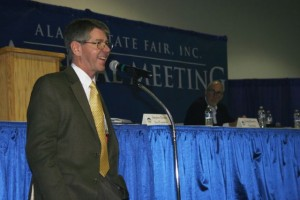 Incumbent Stephen Brown was re-elected to the Fair board of directors.