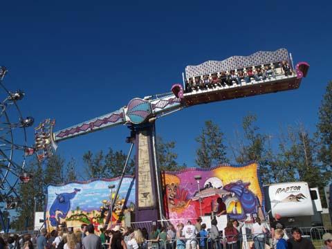 Major Rides Alaska State Fair