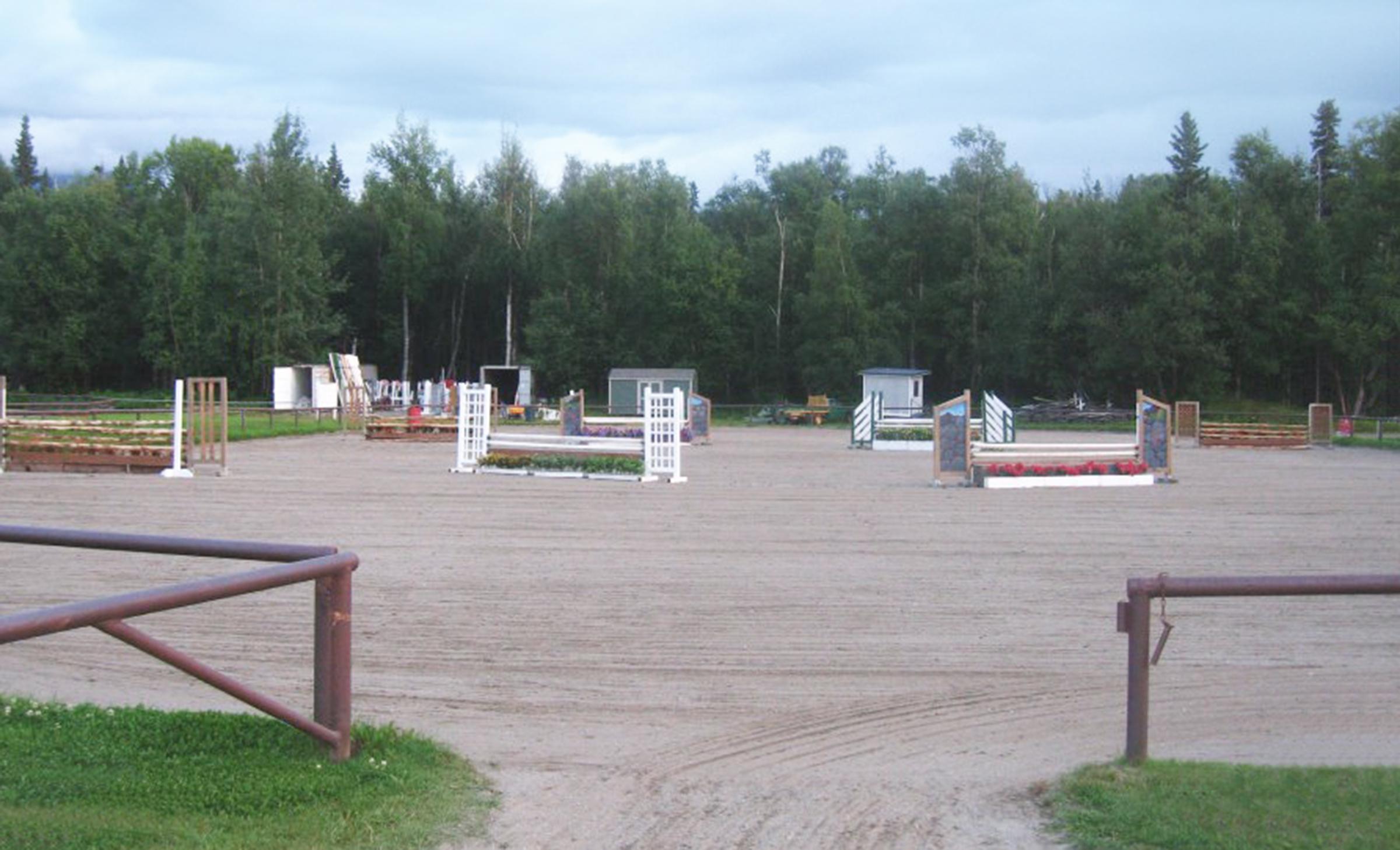 France Equestrian Center Alaska State Fair
