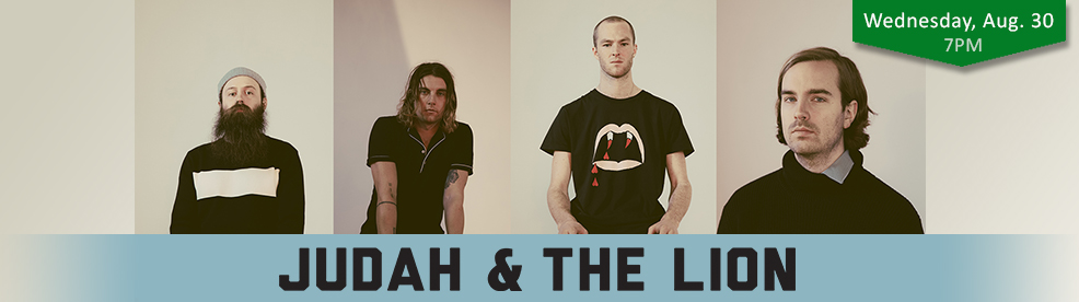 Judah and the Lion - Wednesday, August 30, 2017