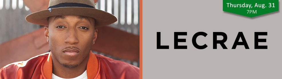 Lecrae - Thursday, August 31, 2017