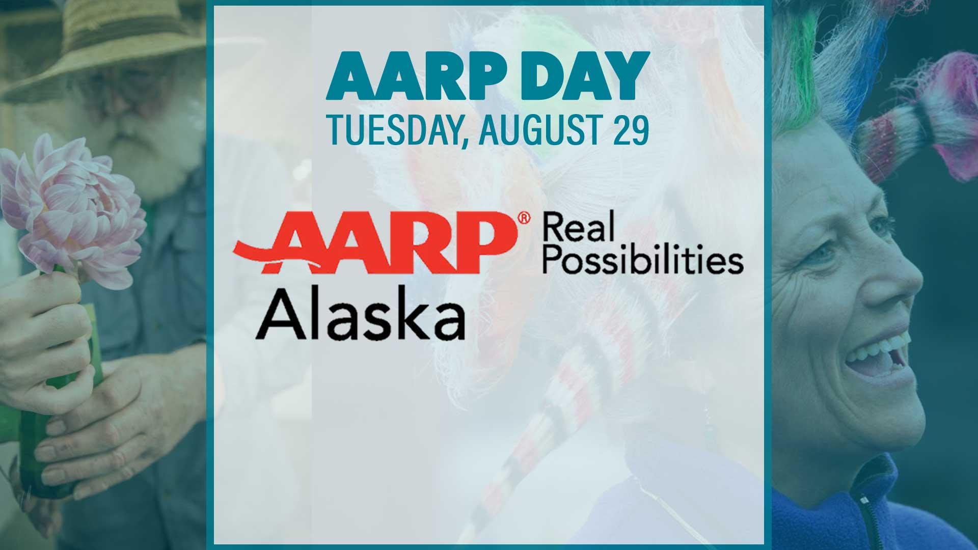 AARP Day Banner