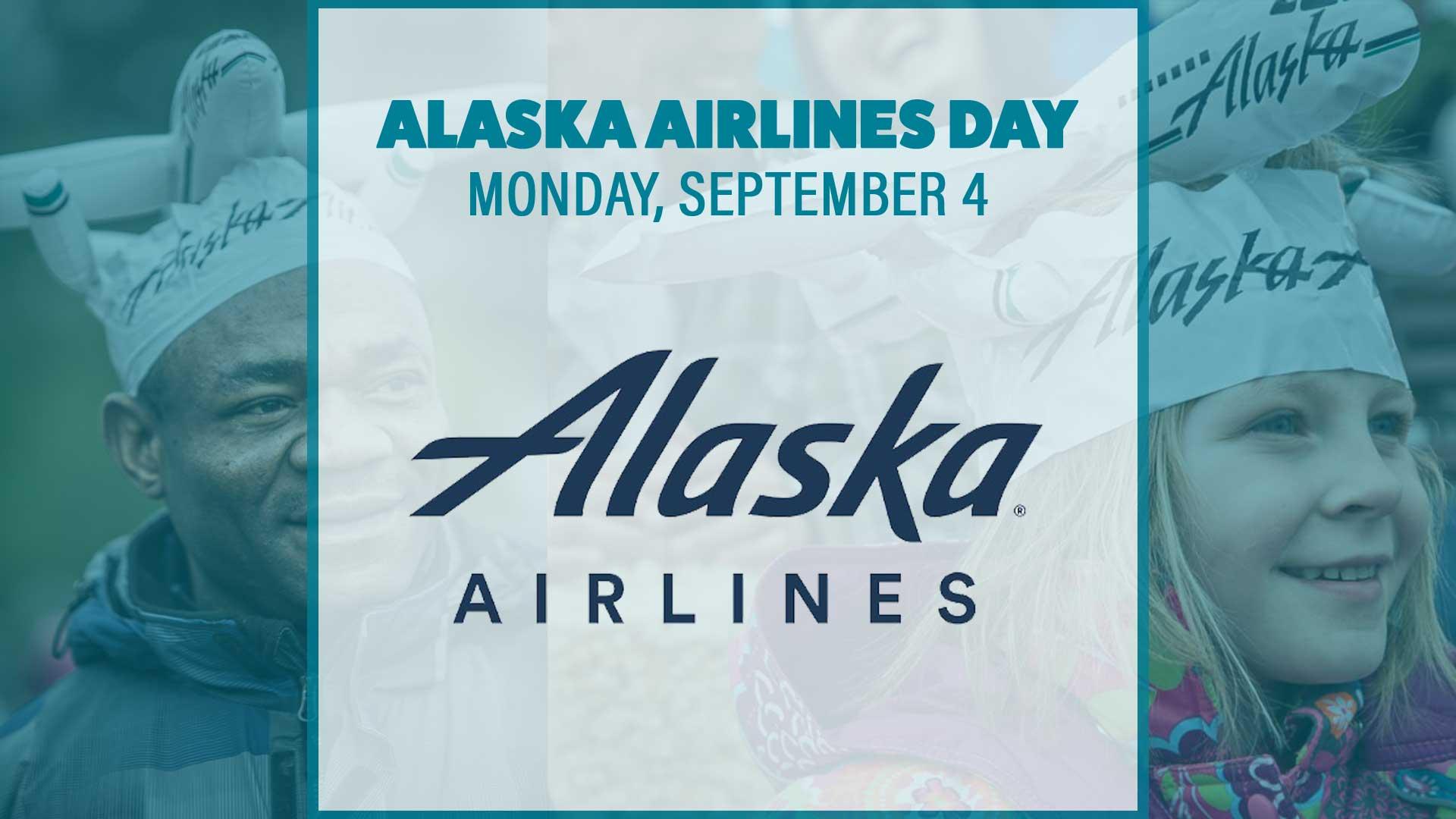 Alaska Airlines Day Banner