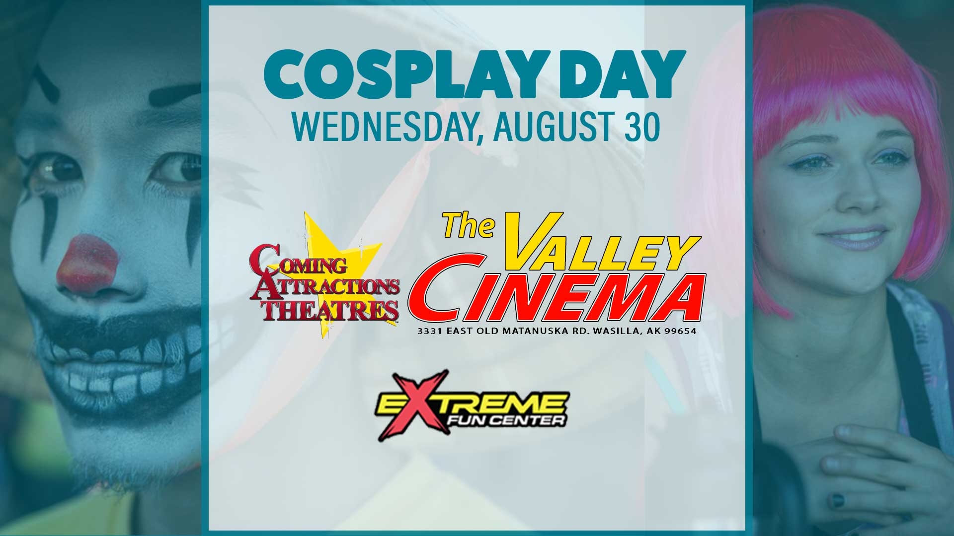 Cosplay Day Banner