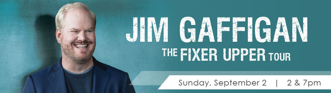 Jim Gaffigan | Sunday, September 2nd | 2pm & 7pm