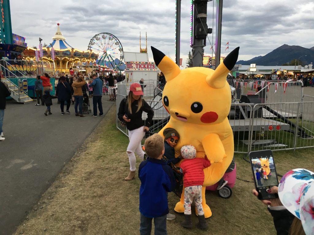 Pok 233 Mon Go Gotta Catch Em All Alaska State Fair