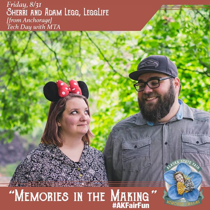 Sherri and Adam Legg, LeggLife