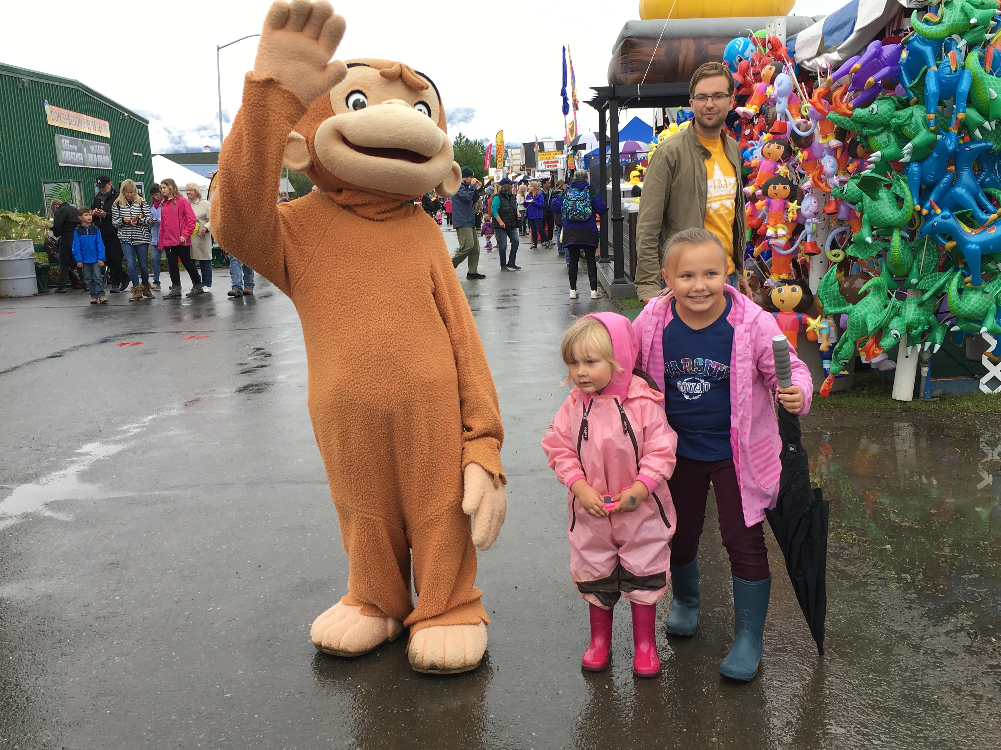 Curious George Meet And Greet Alaska State Fair