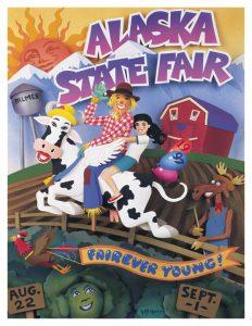 1997 Alaska State Fair Commemorative Poster