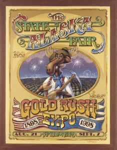 1998 Alaska State Fair Commemorative Poster