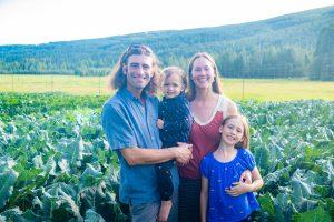 2019 Alaska State Fair Farm Family of the Year St. Pierres of Goosefoot Farm from Fairbanks, Alaska