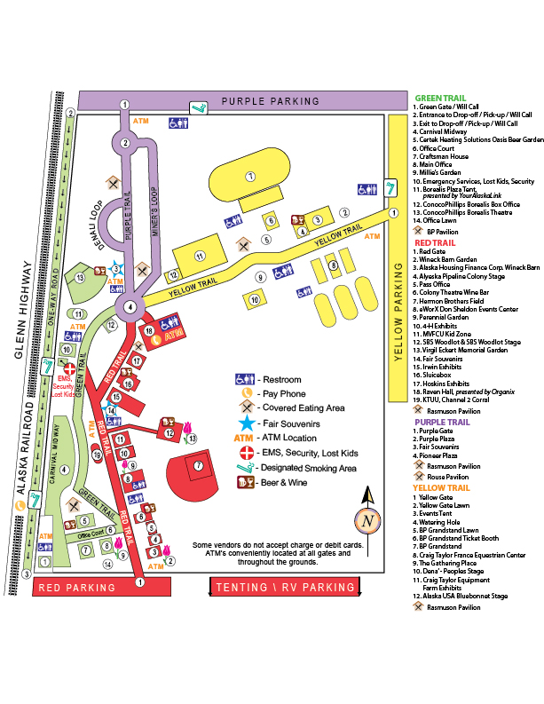 Alaska State Fair 2020 Admissionand Parking.Fairtime Parking Camping Rv Tickets Maps Hours