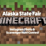 Instagram Minecraft Photo and Scavenger Hunt Contest!